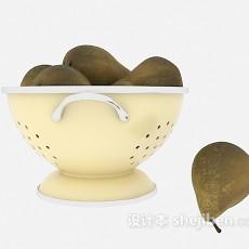 水果梨3d模型下载