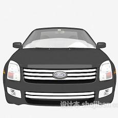黑色汽车免费3d模型下载