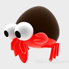 蜘蛛玩具3d模型下载
