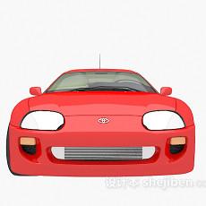 红色max汽车3d模型下载