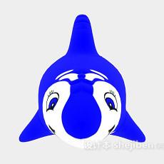 儿童玩具海豚3d模型下载