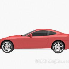 红色车的3d模型下载