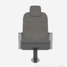 汽车座椅带扶手3d模型下载