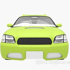绿色小车车3d模型下载