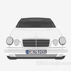 白色车辆免费3d模型下载