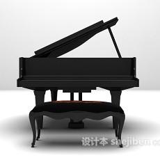 钢琴MAX3d模型下载