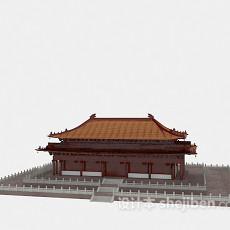 古建宫殿3d模型下载
