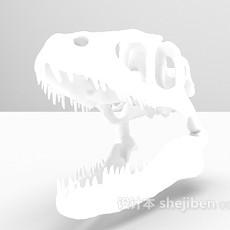 恐龙头3d模型下载