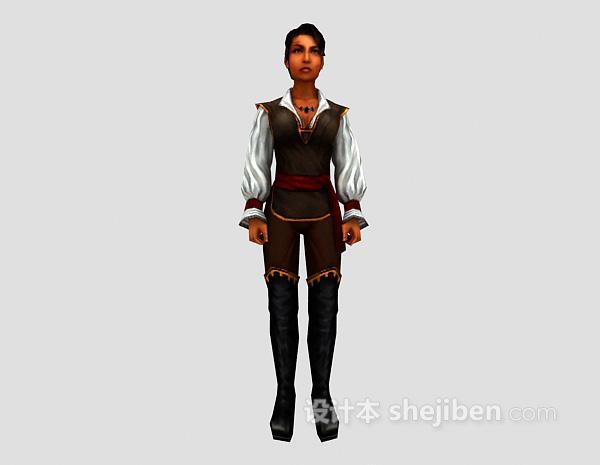 人物模型3d模型下载