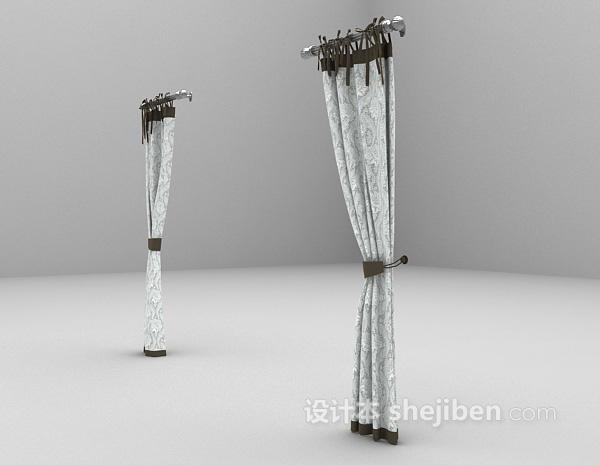 窗帘模型3dmax窗帘模型下载
