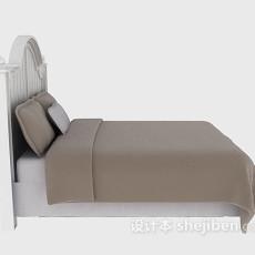木质床欣赏3d模型下载