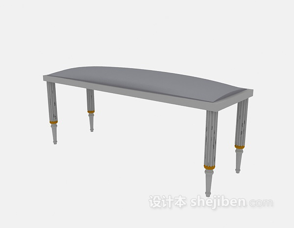长椅凳3d模型下载