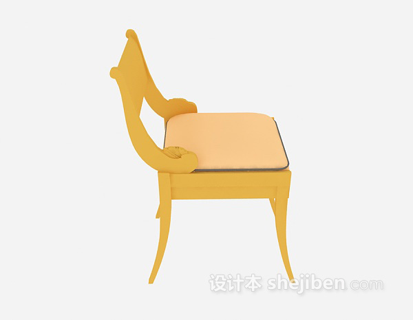 休闲椅3d模型免费下载