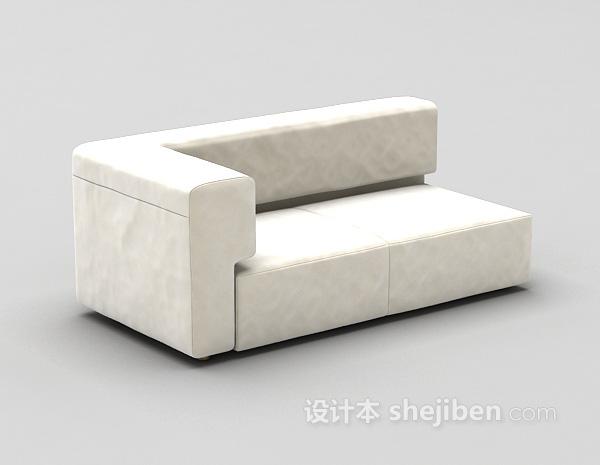 小型沙发3d模型下载