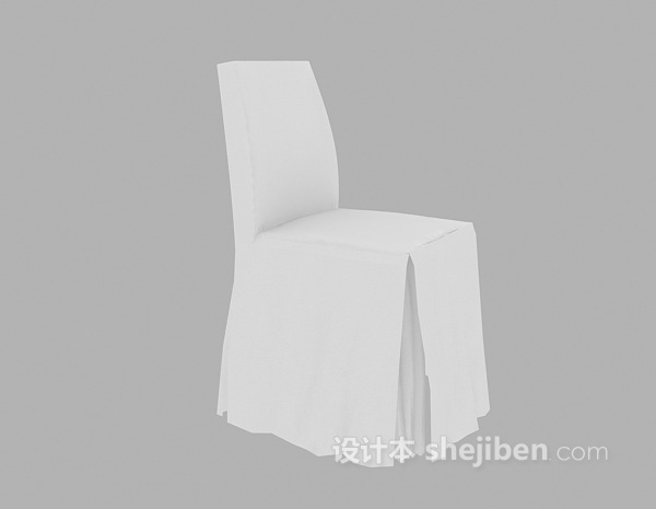 酒店餐桌椅3d模型下载