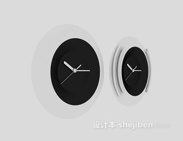 时钟3d模型下载