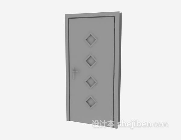 客厅门3d模型下载