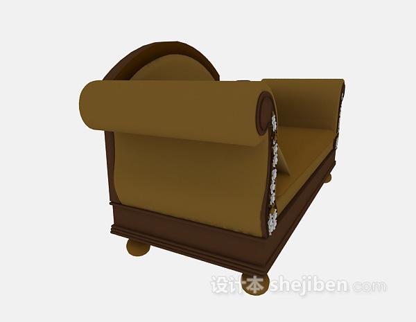 欧式沙发模型3d下载