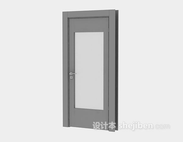 浴室门3d模型下载