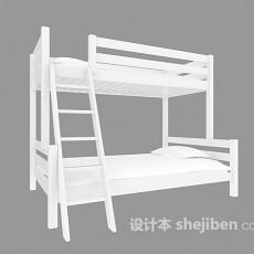 学校用床3d模型下载