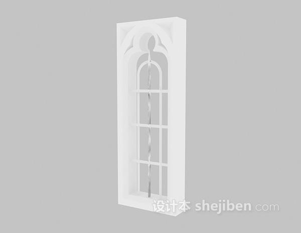 木质装饰架模型下载