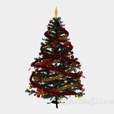 圣诞树装饰3d模型下载