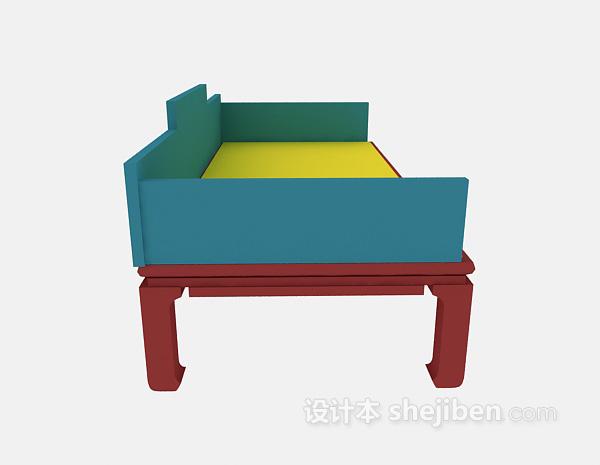 中式沙发模型下载