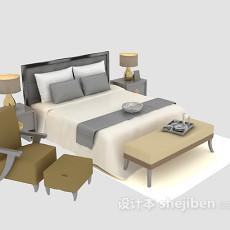 床具推荐3d模型下载