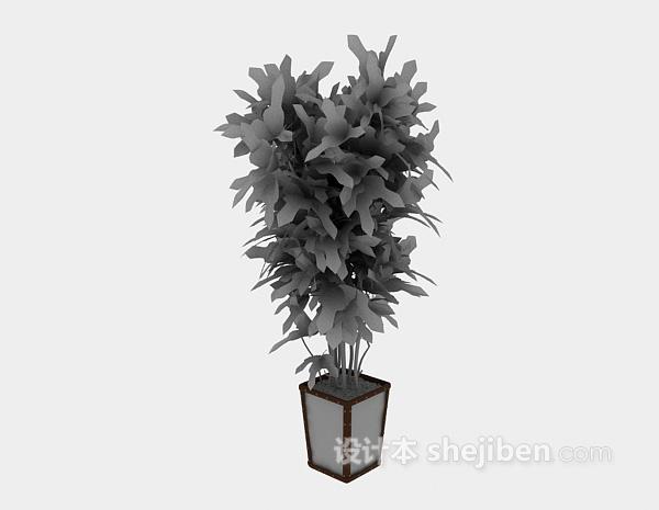 绿植3d模型下载