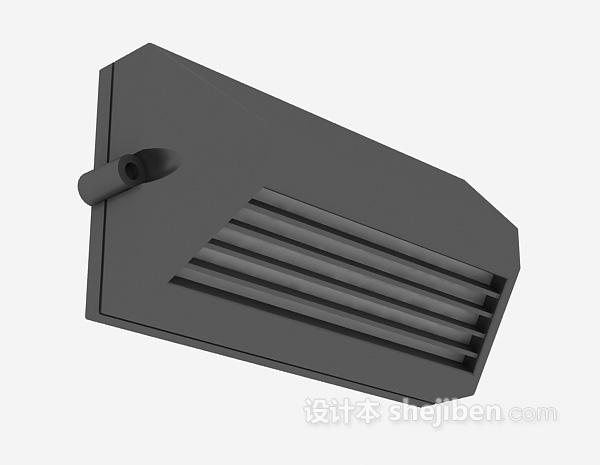 悬挂式音箱3d模型下载