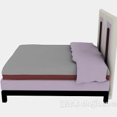 木质床推荐3d模型下载