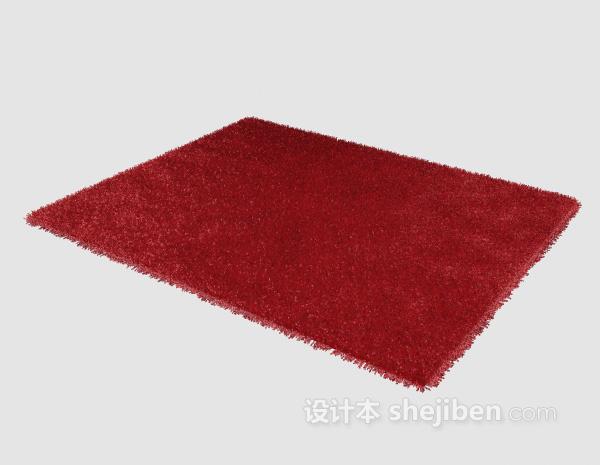 红色地毯3d模型下载