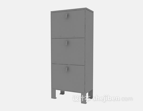 多层储物柜3d模型下载