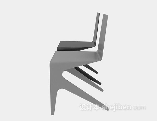 现代椅子3d模型下载