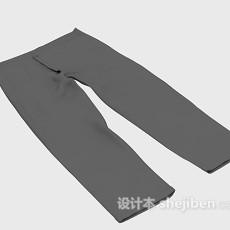 长裤3d模型下载