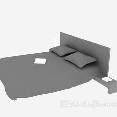 矮床3d模型下载