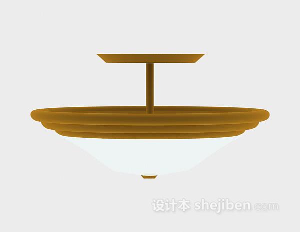 现代吊灯模型3d欣赏