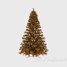 圣诞树节日装饰3d模型下载