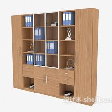 办公文件柜3d模型下载