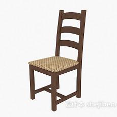 现代风格高背椅3d模型下载