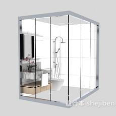 玻璃淋浴房3d模型下载