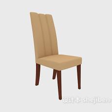 靠背餐椅3d模型下载