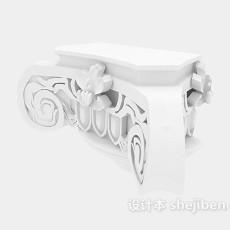 雕花构件3d模型下载
