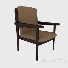 家庭简约休闲椅3d模型下载