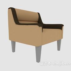 田园简约家居椅3d模型下载
