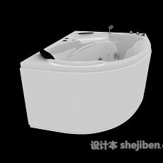 三角家居浴缸3d模型下载
