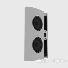 普通音箱3d模型下载