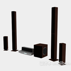 各式音箱3d模型下载