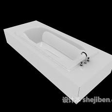 压克力浴缸3d模型下载