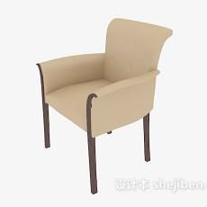 家居扶手休闲椅3d模型下载